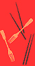 Chopsticks-Fork image from bookcover of The Chopsticks-Fork Principle:  A Memoir & A Manual by Cathy Bao Bean.